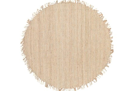 72 Inch Round Rug-Pickett Natural
