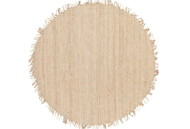 72 Inch Round Rug-Pickett Natural - 360