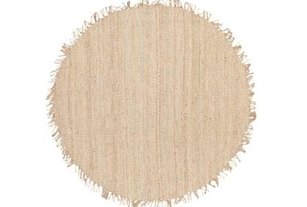 96 Inch Round Rug-Pickett Natural