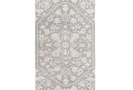 120X168 Rug-Jataka Light Grey