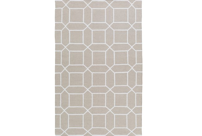 96X132 Rug-Whitaker Light Grey - 360