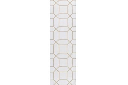 30X96 Rug-Whitaker Ivory/Grey