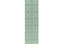 30X96 Rug-Whitaker Sea Foam