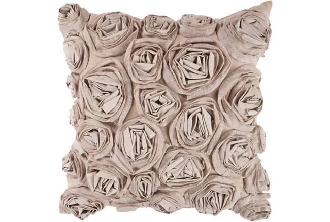 Accent Pillow-Malia Grey 18X18 - 360