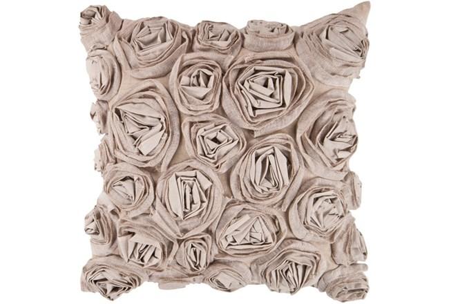 Accent Pillow-Malia Grey 22X22 - 360