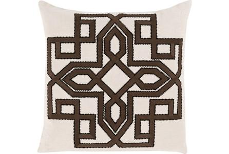 Accent Pillow-Nelson Black 22X22