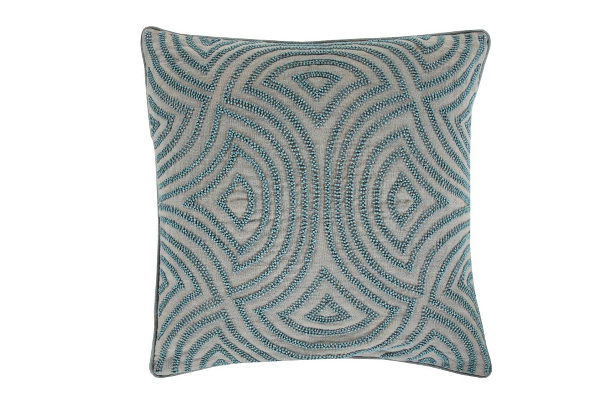 Decorative Pillows Living Spaces : Accent Pillow-Zinnia Blue 18X18 Living Spaces