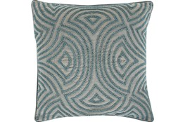 Accent Pillow-Zinnia Blue 20X20