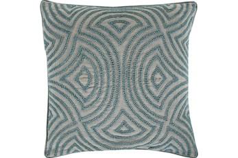 Accent Pillow-Zinnia Blue 20X20