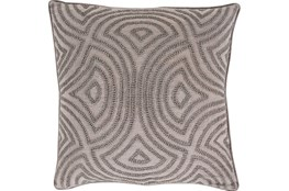 Accent Pillow-Zinnia Grey 20X20