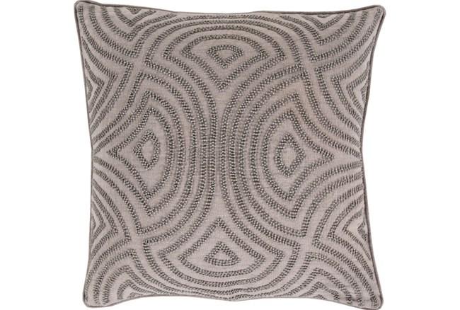 Accent Pillow-Zinnia Grey 20X20 - 360