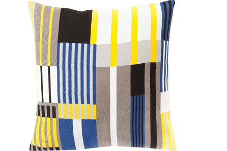 Accent Pillow-Yellow Chloe Plaid 18X18 - Main