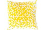 Accent Pillow- Elisa Yellow Pixels 18X18 - Signature