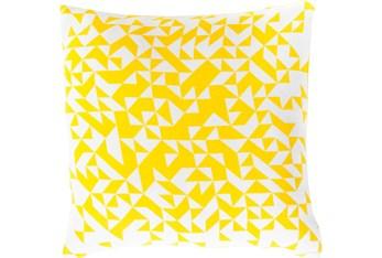 Accent Pillow- Elisa Yellow Pixels 18X18