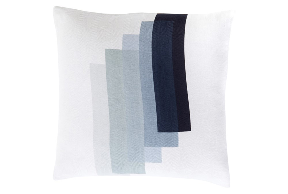 Accent Pillow-Blue Reflections 22X22