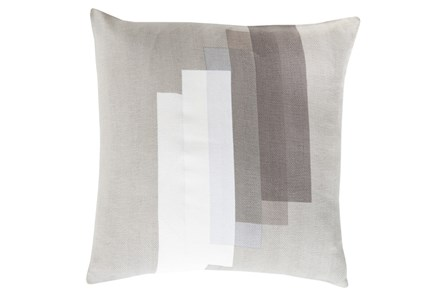 Accent Pillow-Grey Reflections 22X22 - Main
