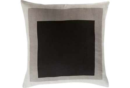 Accent Pillow- Seraphina Black Squares 22X22