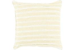Accent Pillow-Azalea Cream 22X22