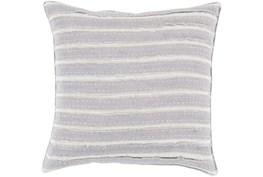 Accent Pillow-Azalea Grey 22X22