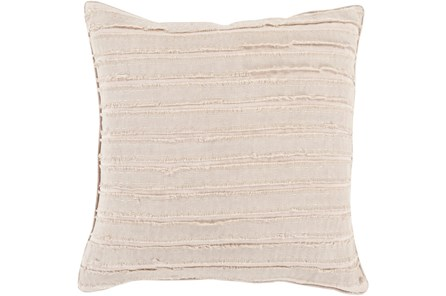 Accent Pillow-Azalea Beige 20X20 - Main