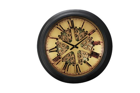 26 Inch Gear Wall Clock - Main
