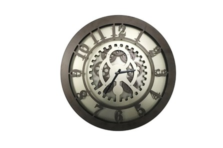 20 Inch Gear Wall Clock - Main