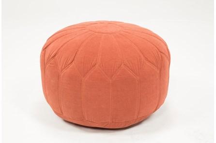 Pouf-Veronique Tangerine - Main