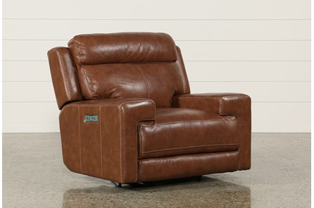 Waylon Leather Power Recliner W/Power Headrest & Usb - Main