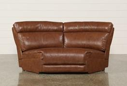 Waylon Leather Wedge