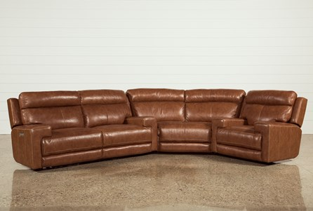 Waylon 3 Piece Power Reclining Sectional W/Recliner