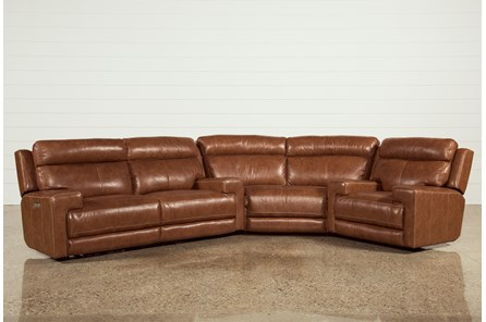 Waylon 3 Piece Power Reclining Sectional W/Recliner - Main