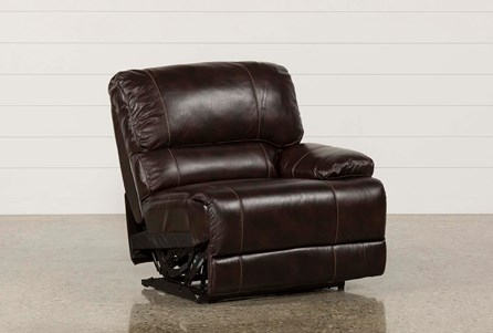 Payton Leather Power Right Facing Recliner
