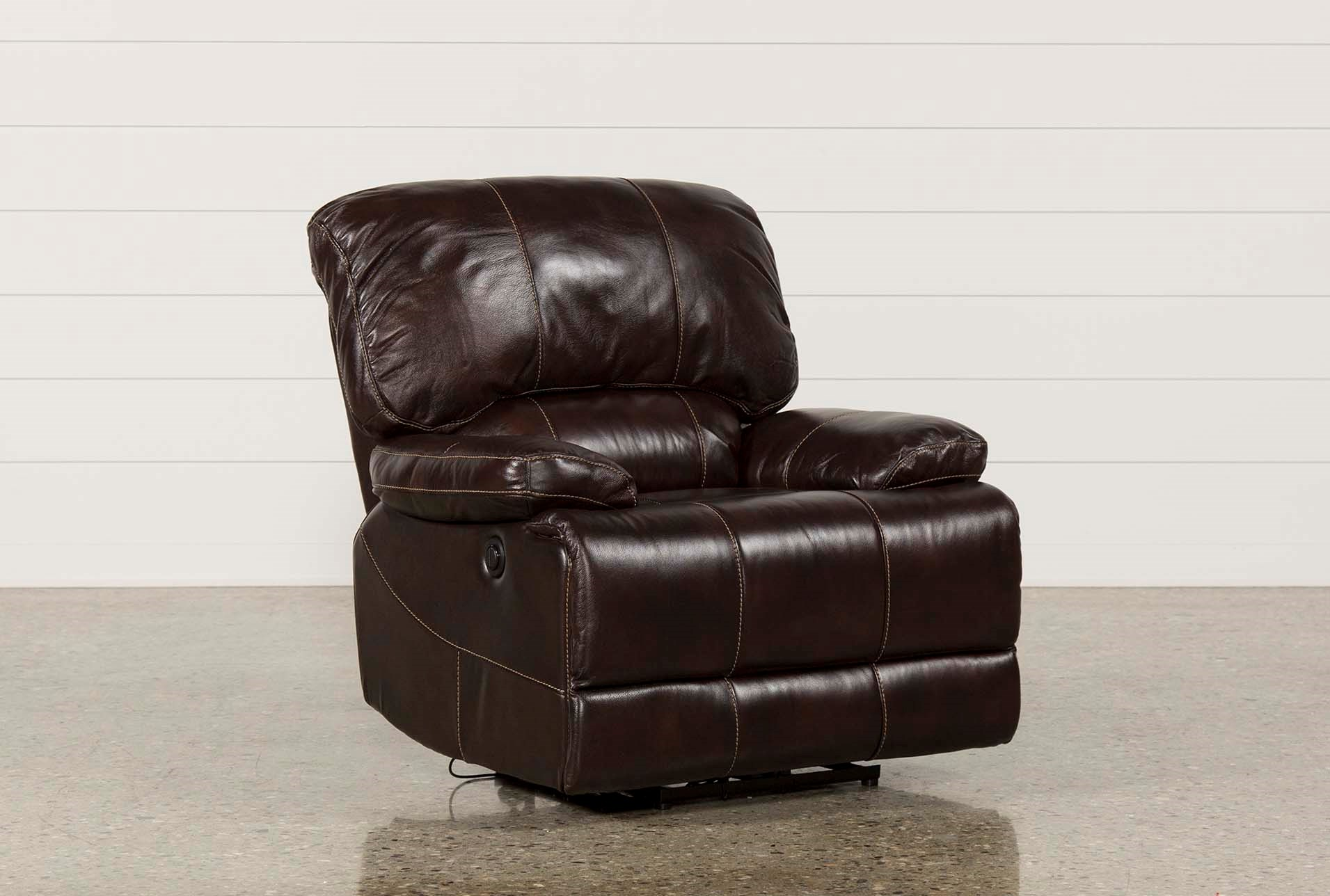 Payton Leather Power Recliner Living Spaces ~ Payton Power Reclining Sofa