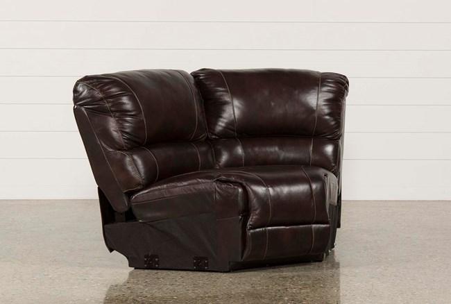 Payton Leather Corner Wedge - 360