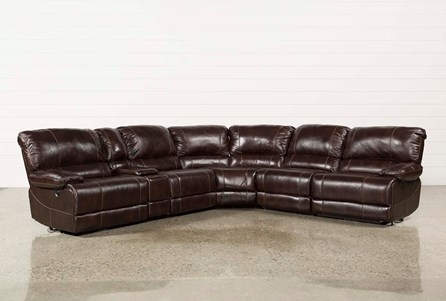 Payton 6 Piece Sectional W/Power Armless Recliner