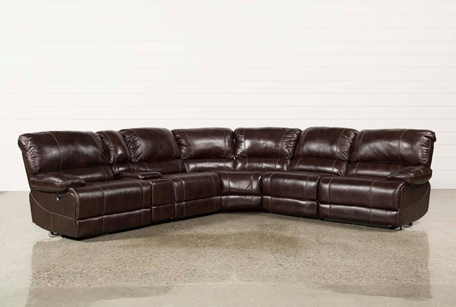 Payton 6 Piece Sectional W/Power Armless Recliner - 360