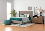 Damon II Full Upholstered Platform Bed W/Storage - Room
