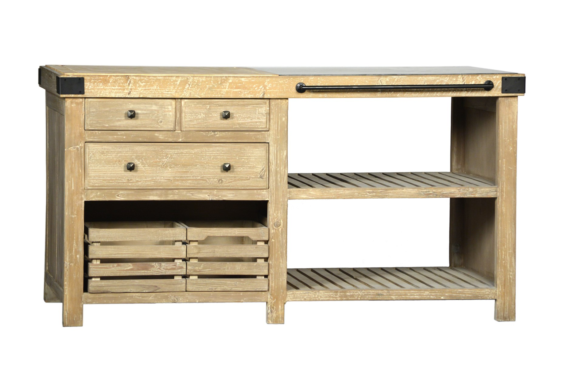 Blue Stone Kitchen Island Qty 1 Has Been Successfully Added To Your Cart
