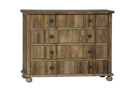 Light Stained 4-Drawer Dresser - Main
