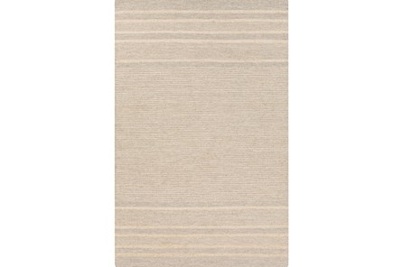 39X63 Rug-Nia Jute Stripe Cream