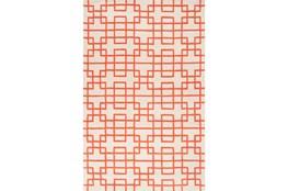 39X63 Rug-Anova Orange
