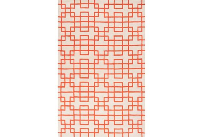 60X96 Rug-Anova Orange - 360