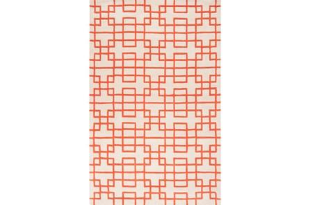 96X132 Rug-Anova Orange