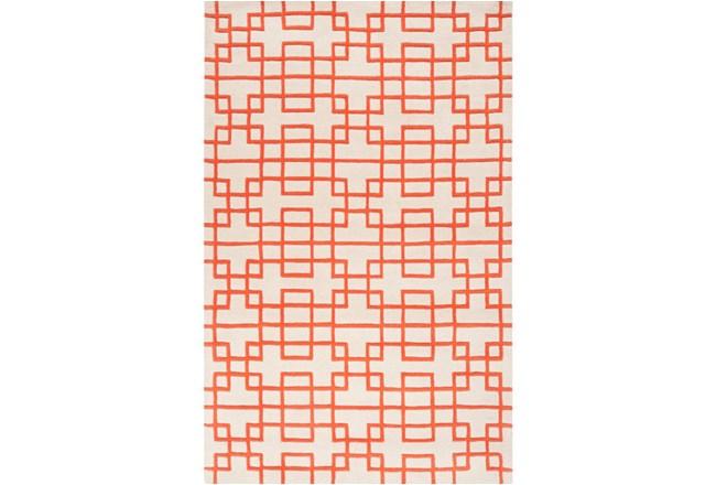 96X132 Rug-Anova Orange - 360