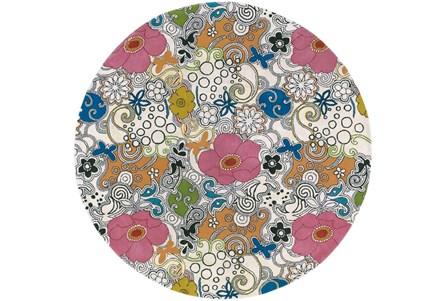 69 Inch Round Rug-Jackie Floral
