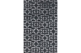 24X36 Rug-Laberinto Charcoal