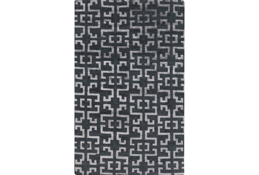 60X96 Rug-Laberinto Charcoal