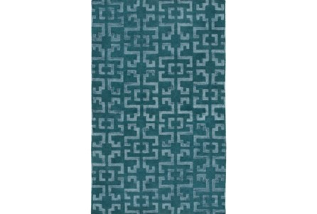 24X36 Rug-Laberinto Teal