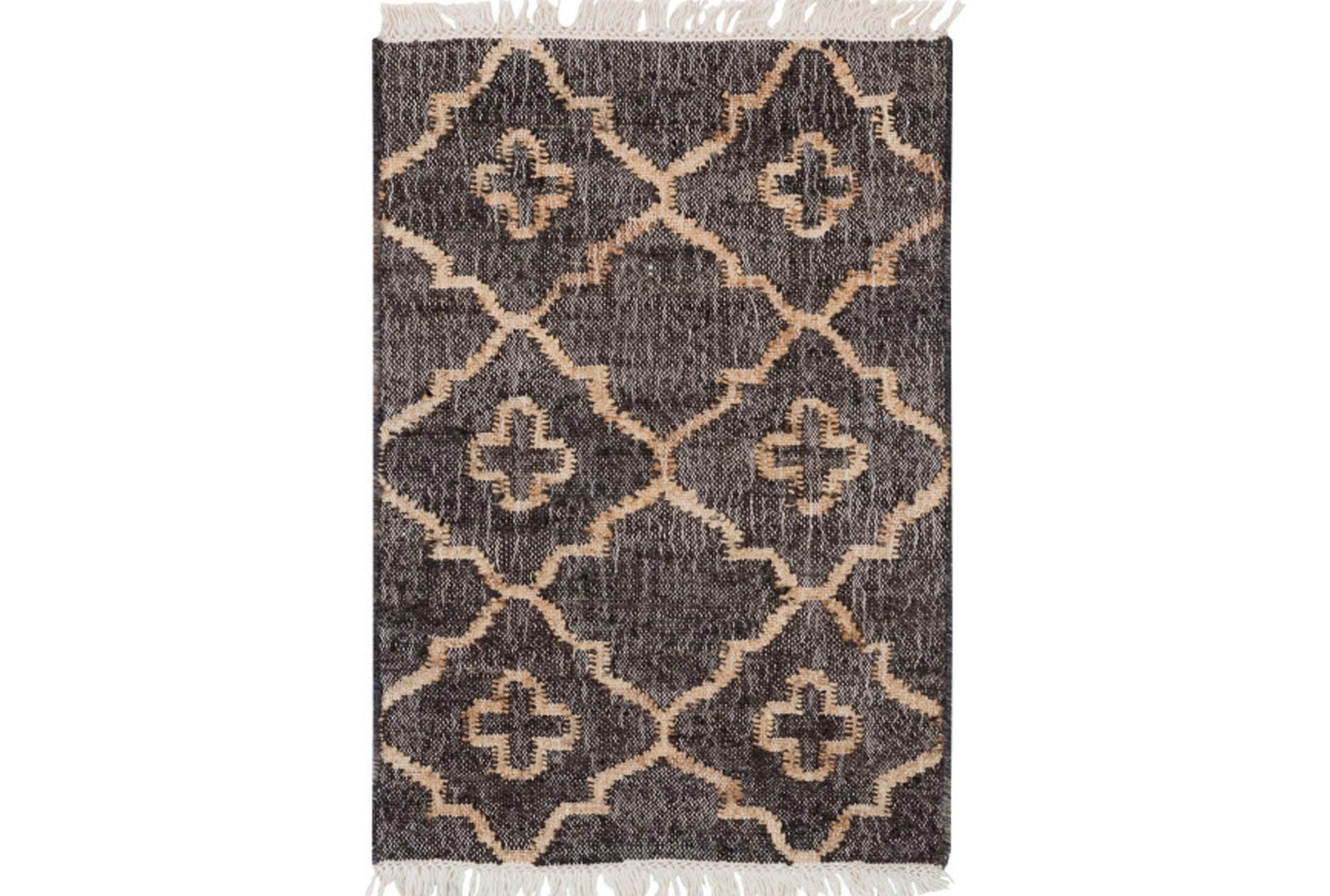48x72 rug clave black living spaces