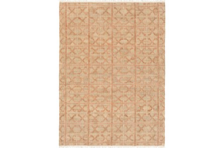 48X72 Rug-Jacks Beige/Salmon - Main